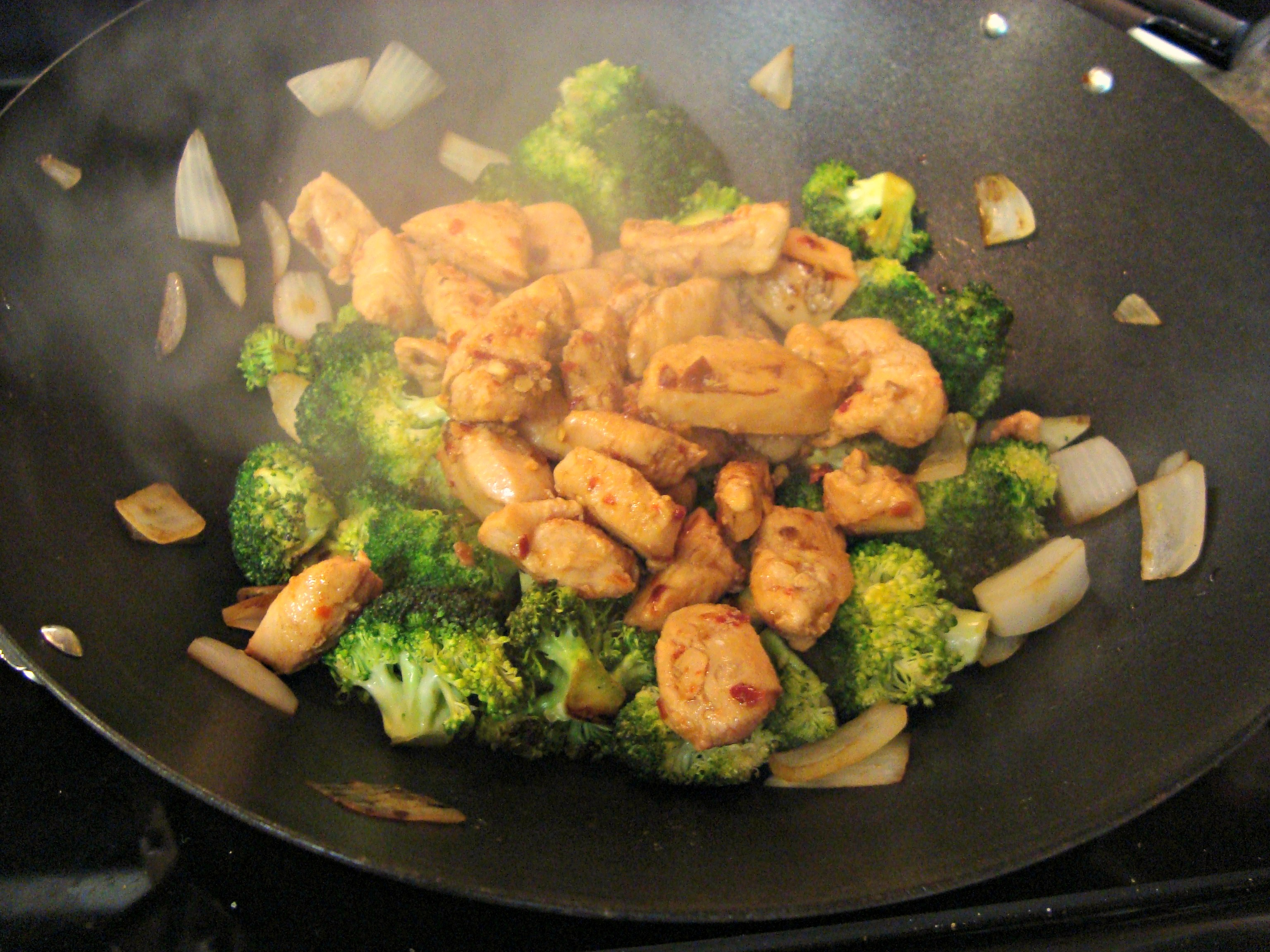 Chicken and Broccoli Stir Fry | A seat at my table
